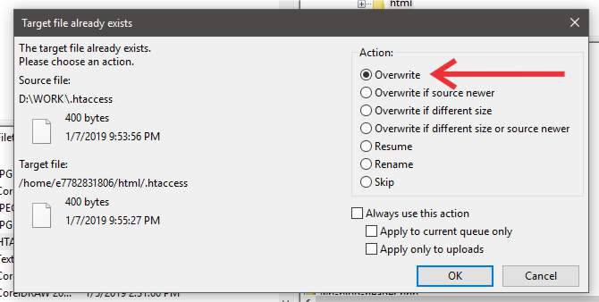 ftp-window-to-overwrite-file