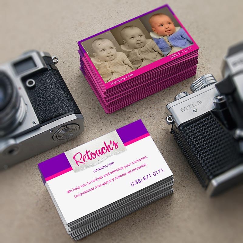 Logo-Logotipo-Retouch-Business-Cards-Tarjetas-de-Presentacion-Mario-Vargas