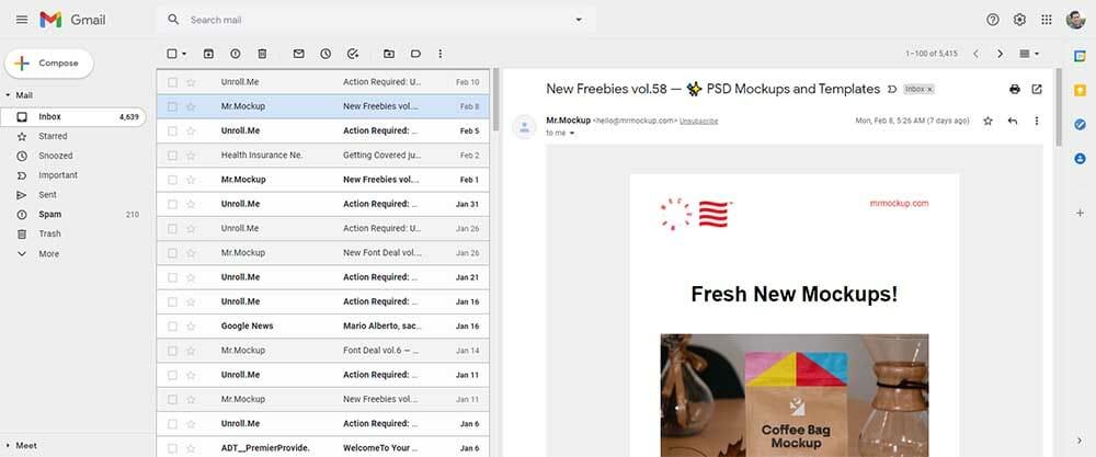 Gmail Screenshot